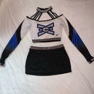 East Celebrity Elite Allstars cheer uniform